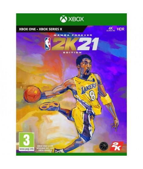 NBA 2K21 Edition Mamba Forever Jeu Xbox One