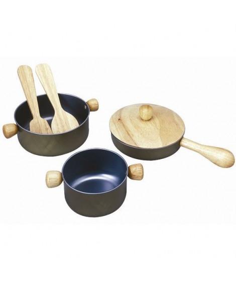 Plantoys - Jouets en bois - Ustensiles de Cusine