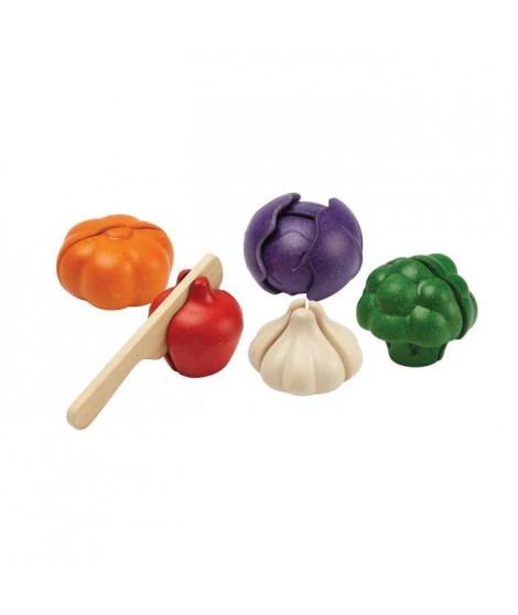 PLAN TOYS Assortiment de 5 nouveaux légumes a découvrir