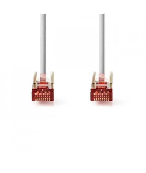Cable Réseau Cat 6 S-FTP | RJ45 Male - RJ45 Male | 20 m | Gris     ALPEXE-1122
