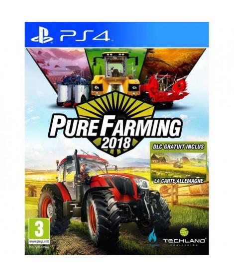 Pure Farming 2018 Day 1 Edition Jeu PS4