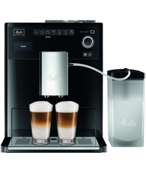 MELITTA E970-103 Machine expresso automatique avec broyeur Caffeo CI - Noir
