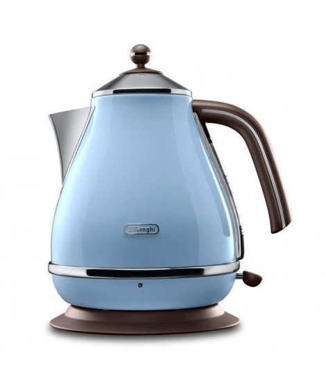 DELONGHI KBOV 2001.AZ Bouilloire électrique Icona Vintage - Bleu