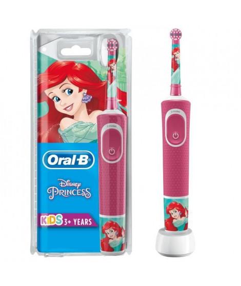 Oral-B Kids Brosse a Dents Électrique - Princesses - adaptée a partir de 3ans, offre le nettoyage doux et efficace