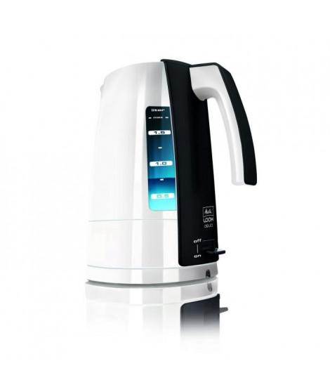 MELITTA H205-0102 Bouilloire électrique Look Aqua - Blanc