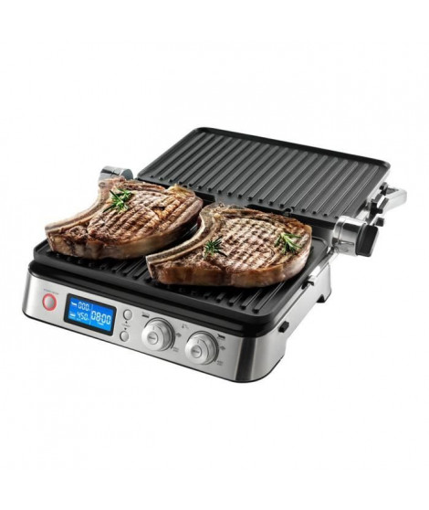 DELONGHI CGH1020D Grille-viande Multigrill - 6 modes de cuissons - Inox