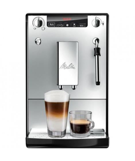 Melitta Caffeo Solo&Milk E 953-102 avec broyeur intégré Argent