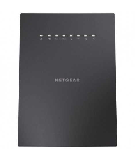 NETGEAR Répéteur WiFi X6S Nighthawk AC3000 - 4 ports RJ45 Gigabit - Technologie MU-MIMO - Tri Band 2,4 et 5 GHz - Universel