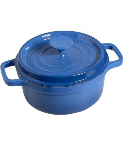 COSY & TRENDY Casserole - D20xh10 - Bleu