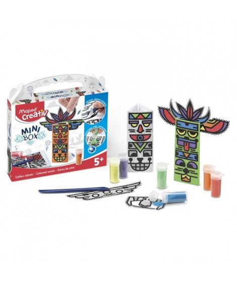 MAPED CREATIV - Mini Box - Sables Colorés a construire