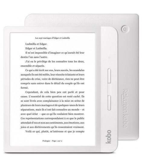 Liseuse numérique KOBO Libra H2O - 7 - RAM 512 Mo - Stockage 8 Go - Blanche