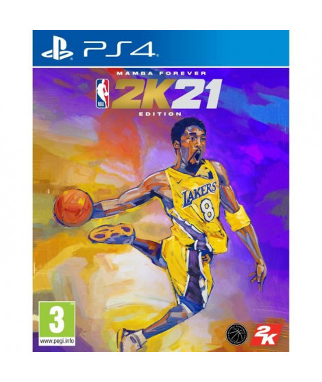 NBA 2K21 Edition Mamba Forever Jeu PS4