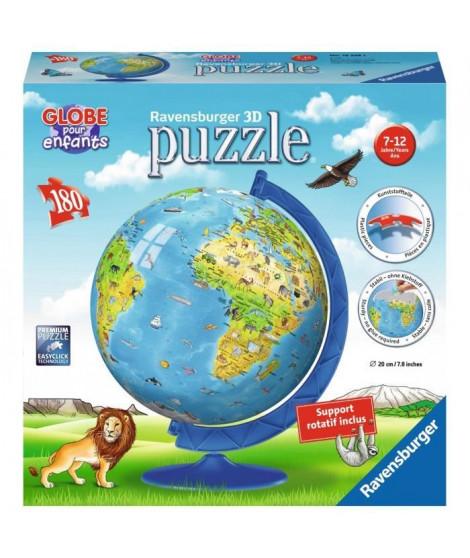 RAVENSBURGER Puzzle 3D Mappemmonde 180 pcs