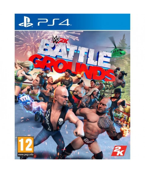 WWE 2K Battlegrounds Jeu PS4