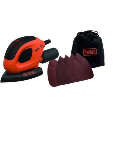 BLACK & DECKER Ponceuse de detail mouse - 55 watts