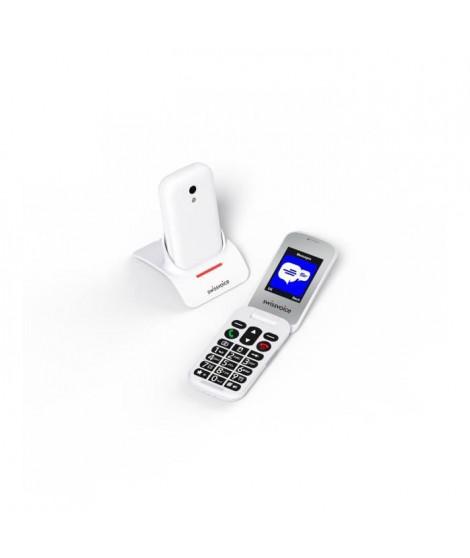 SWISSVOICE S24 - Téléphone mobile débloqué 2G a clapet pour séniors