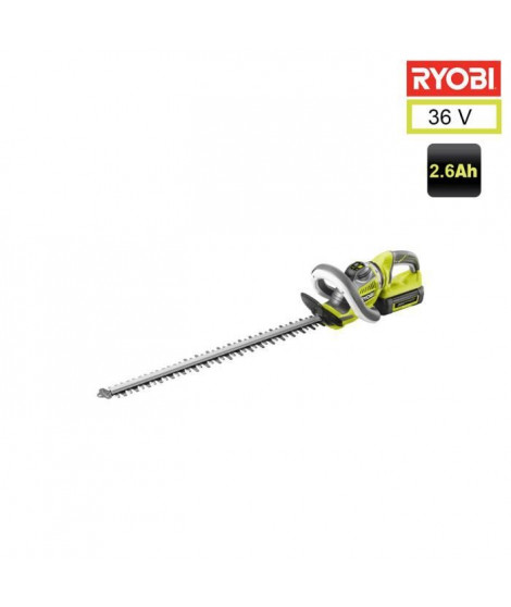 RYOBI Taille-haies 60 cm - 36V - 1x2,6Ah Lion