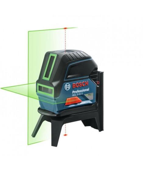 BOSCH PROFESSIONAL Niveau laser combiné GCL 2-15 G coffret