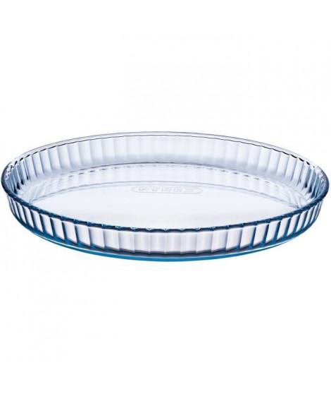 PYREX Moule a tarte Classic Glassware 30 cm transparent