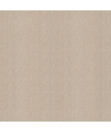 Papier peint double largeur uni Brillant marron 104 cm x 10m vinyle texturé intissé marron