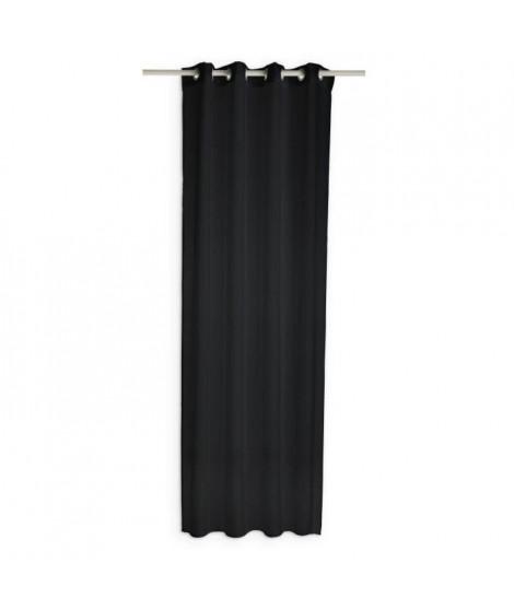 TODAY Voilage - 135x240 cm - Noir réglisse