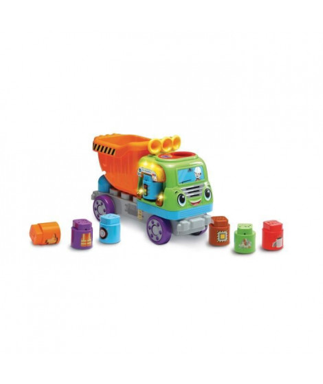 VTECH - 609705 - Mon Camion Benne des Découvertes