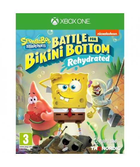 Spongebob Squarepants: Battle For Bikini Bottom - Rehydrated Jeu Xbox One