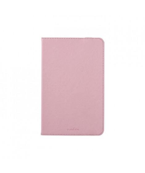 Nedis Tablet Folio Case Protection a rabat pour tablette polyuréthane rose