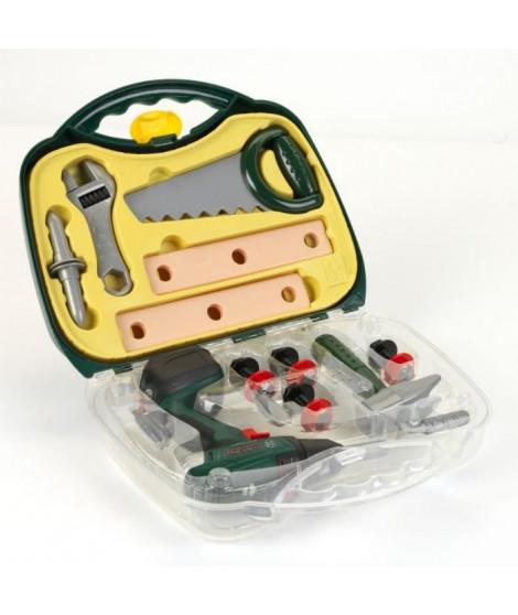BOSCH - Mallette a outils avec visseuse et accessoires pour Enfant