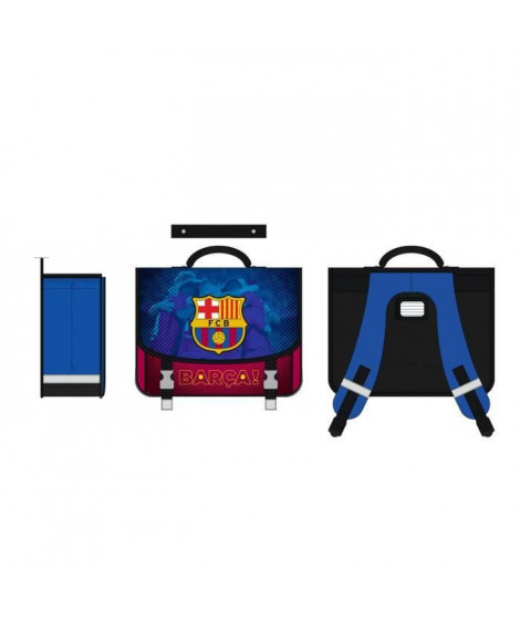 FC BARCELONE Cartable - Deux compartiments - 41 cm - Bleu