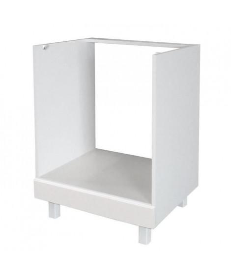 POP Caisson four bas 60 cm - Blanc Brillance