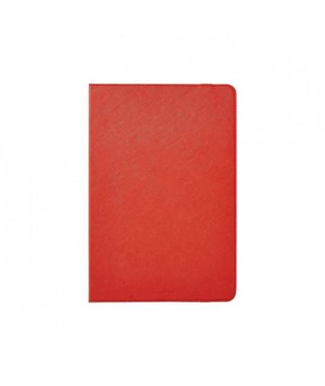 Nedis Folio Case Protection a rabat pour tablette polyuréthane rouge