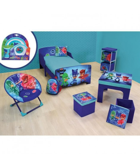 PJMASKS Pack chambre complet pour enfant