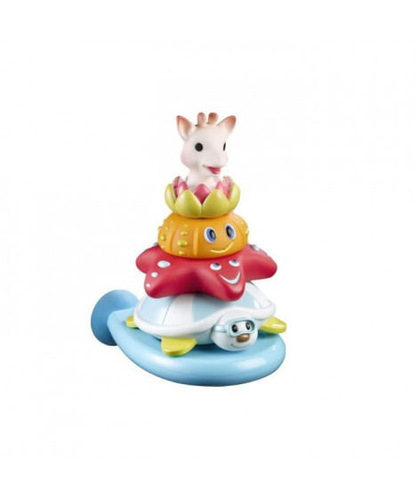 SOPHIE LA GIRAFE Jouet de bain Splash and Surf Pyramid