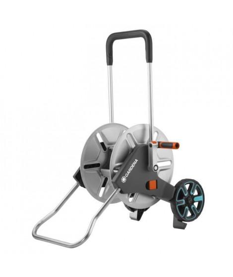 GARDENA Dévidoir sur roues AquaRoll M Metal