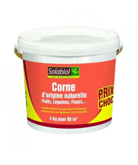 SOLABIOL SOCOR4 Corne D'origine Naturelle - 4 Kg - Prix Choc