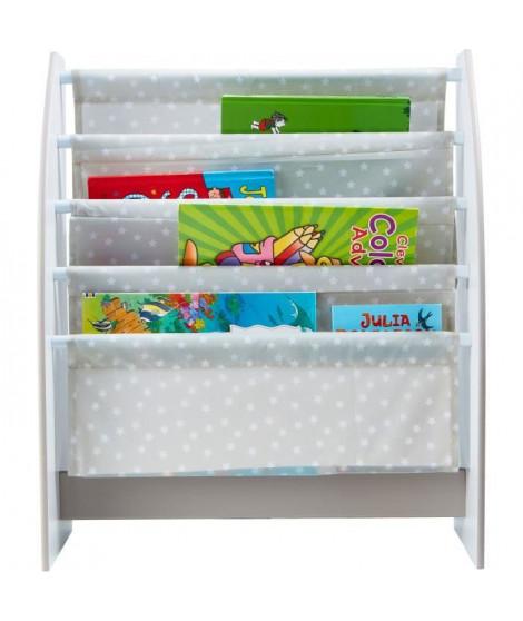 WORLDS APART - Bibliotheque a pochettes pour enfants - Rangement de livres pour chambre d'enfant