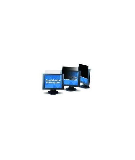 3M Filtre de confidentialité pour écran - Noir - Pour 48,3 cm (19) Moniteur - 5:4