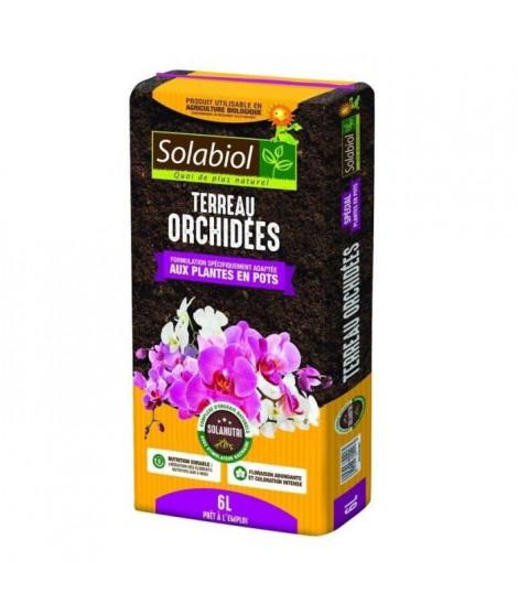 SOLABIOL - Terreau Orchidées - Sac 6 L - UAB