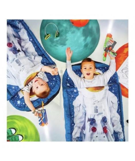 READYBED Lit d'appoint pour enfants avec couette intégréeJe suis un astronaute
