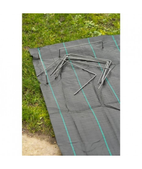 NATURE Agrafes métalliques pour fixation au sol