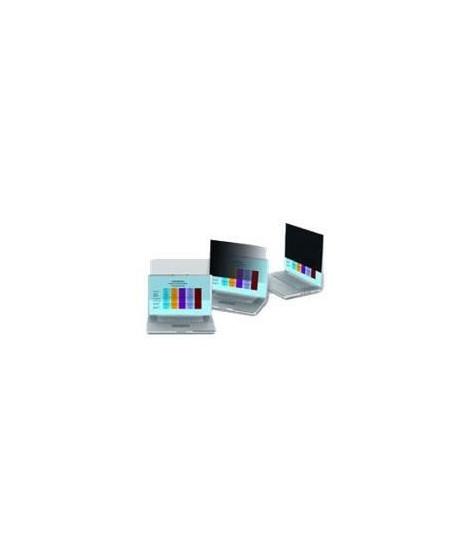 3M Filtre de confidentialité pour écran - Noir - Pour 58,4 cm (23) Écran large Moniteur - 16:9