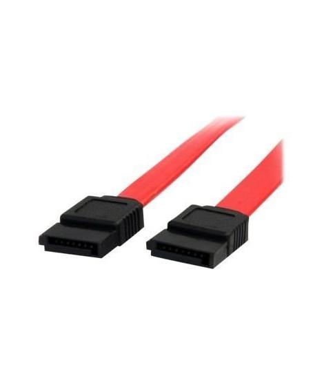 Câble SATA de 46 cm - Cordon Serial ATA en rouge - Câble SATA de 46 cm - Cordon Serial ATA en rouge - SATA18