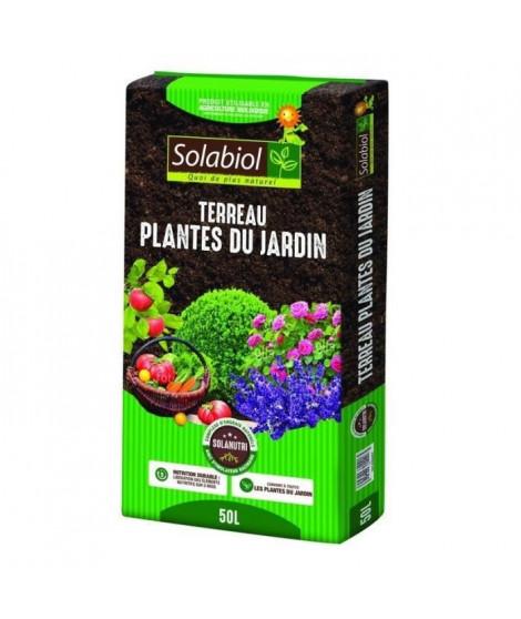 SOLABIOL - Terreau Plantes du jardin - Sac 50 L - UAB
