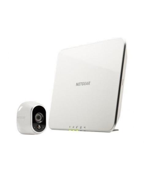 Arlo - Systeme de sécurité sans fils a vision nocturne - 1caméra HD intérieur/extérieur + station d'accueil intelligente (VM…