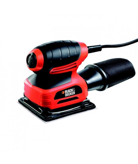 BLACK & DECKER Ponceuse vibrante KA400 220W + sac