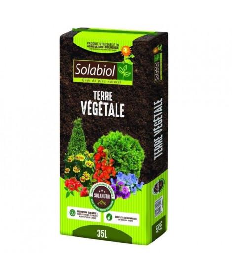 SOLABIOL - Terre Végétale - Sac 35 L - UAB