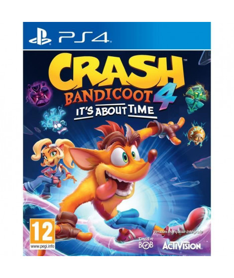 Crash Bandicoot 4 : It's About Time Jeu PS4
