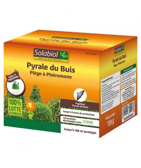 SOLABIOL SOPIBUIS Piege a Phéromone Pyrale Du Buis