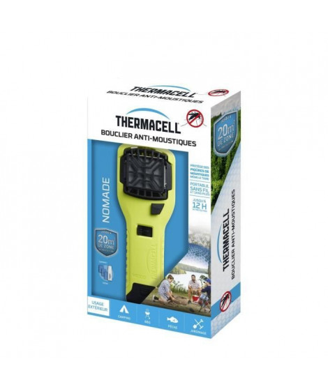THERMACELL - Bouclier Anti-Moustiques - Portable vert anis